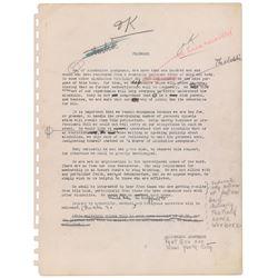 Bill Wilson's working draft manuscript of Alcoholics Anonymous  Big Book .