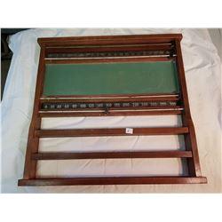 Antique Billiards Wall Scoring Board