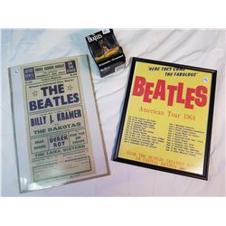 Beatles lot 2-pictures+ Yellow Submarine Ornament