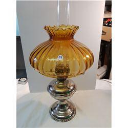 Alladin #6 Oil Lamp-Fancy Shade