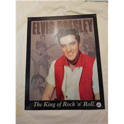 Elvis Tin Poster -16x12
