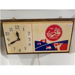 Co-Op Dairy Wall Clock