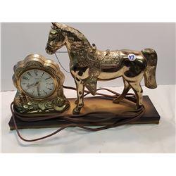 Canadian Horse Clock- United Co