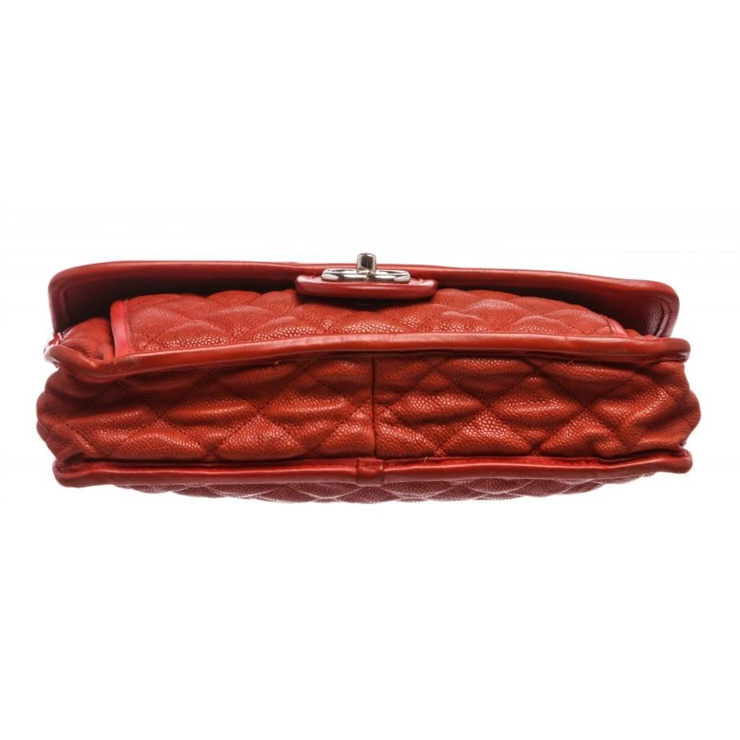 e5c36e2628 ... Image 5 : Chanel Brick Red Quilted Caviar Leather Medium French Riviera  Flap Bag ...