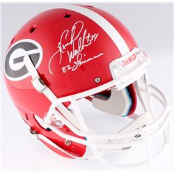 f9c4b41a7 Herschel Walker Signed Georgia Bulldogs Full Size Helmet Inscribed