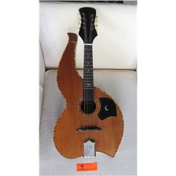 "Mandolin - Rare Body Shape, 8 Strings, Approx. 26"" L, 11"" W"