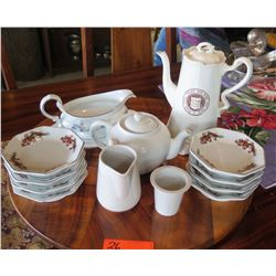 Yale Coffee Server, Tea Serveware, Bowls, Gravy Boat,  (Limoges, Japan, etc.)