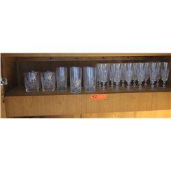 Crystal Beverage Glasses: Tall Glasses, Tumblers, Stemmed Glasses