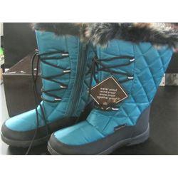 New Snow Tech Winter boots teal size 7 / Waterproof/windproof/snowproof