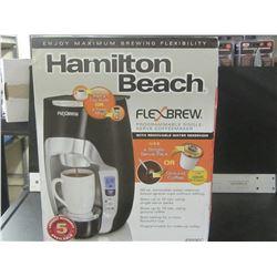 New Hamilton Beach Flexbrew programmable single serve coffeemaker /
