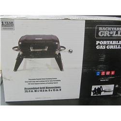 New Backyard Frill portable Propane BBQ/ porcelain grills