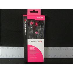 New Clarity HD high def Headphones