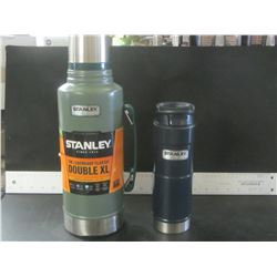 New Stanley Thurmos 32 hr hot & cold 1.9 litre / & 1 Stanley 16oz drink cup