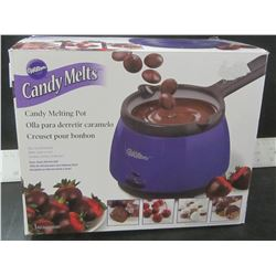 New Wilton Cany Melt Pot / easy clean silicone pot