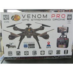 New Venom Pro GPS Streaming Drone /Camara/3D flight/ Auto Pilot and more