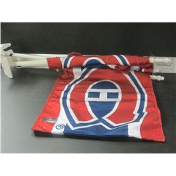 3 New Montreal Canadians Car Flags / NHL logo tags