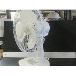 12 inch Fan 3 fan speeds with  oscillation