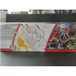 5 Game Combo / volleyball / Badminton / Frisby / Majik smash / majik fling