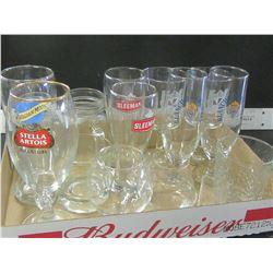 Flat Full of Glasses / Whiskey / Beer / Wine