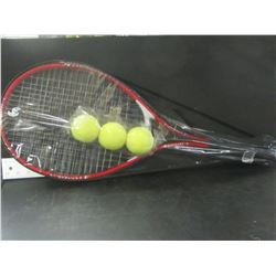 2 New Tennis Rackets and 3 balls