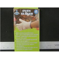 New Pair of Oven Gloves / an Absolute must for BBQ or Camping cooking
