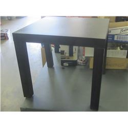End Table / 20 inches square x 18 inches high