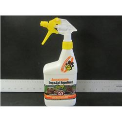 Dog & Cat Repellent / eco safe / keep cats out of flower beds/keep dogs from digging