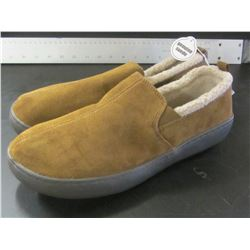 Mens Slippers / Genuine Suede  / non marking sole / Size 12