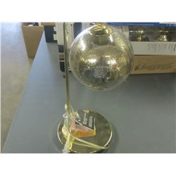New Gold Mercury Glass table lamp