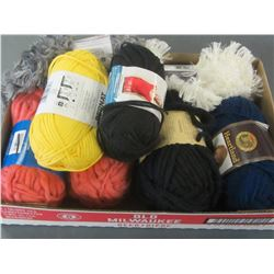 Bundle of New Assorted Yarn