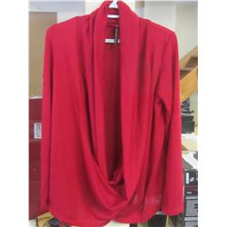 Women's Rags + Couture top / red size XL