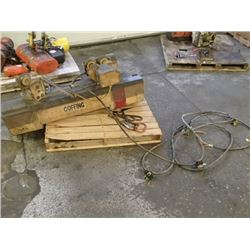 Coffing 3 Ton Cable Hoist, No Main Tag
