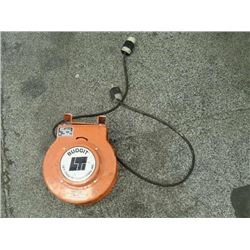 Budgit Cord Reel, 25Ft of No. 16-4 COND, M/N: 4-000000-91