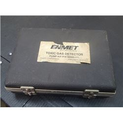 Enmet Toxic Gas Detector, Pump Kit P/N: 90000-111
