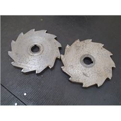 "8"" x 3/4"" Carbide Tipped Cutting Wheels, 2 Total"
