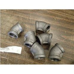 Anvil 45Degree Pipe Fittings, 6 Total