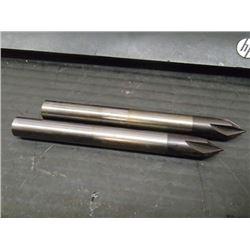 Sandvik 10mm Solid Carbide Chamfering End Mills, P/N: R215.94-01500-AC74G