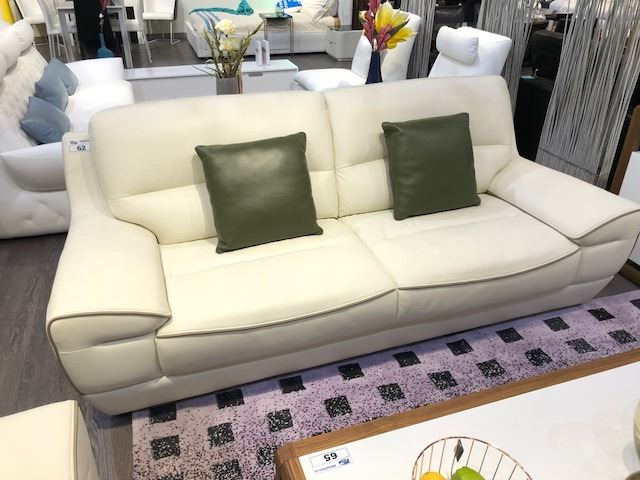 Prime White Leather Sofa And Loveseat Set With 2 Dark Green Machost Co Dining Chair Design Ideas Machostcouk