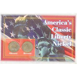 AMERICAS CLASSIC LIBERTY NICKEL SET AS SHOWN