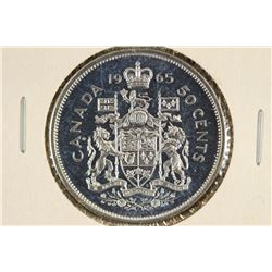 1965 CANADA SILVER 50 CENT UNC
