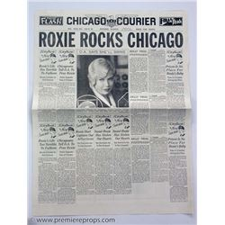 Chicago Roxie Rocks Chicago Newspaper Movie Props