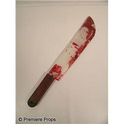 Scream 4 Bloody Machete Movie Props