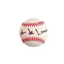 John de Lancie Singed Baseball