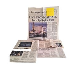 Southpaw Billy Hope (Jake Gyllenhaal) Newspaper Clippings Movie Props