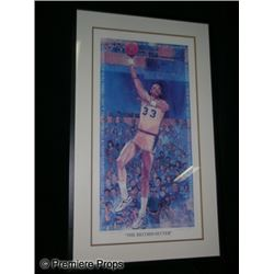 Kareem Abdul Jabbar Framed Drawing