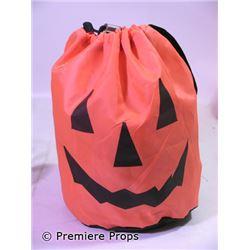 Halloween 2 Set Decoration Jack-o-Lantern Bag of Hay Movie Props