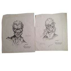 The Midnight Hour (TV) Ghoul Sketches