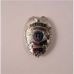 Prisoners Conyers Police Badge Movie Props