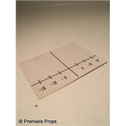 Inglourious Basterds Graph Paper Movie Props
