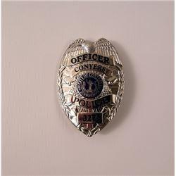 Prisoners Conyers Police Badge Movie Props